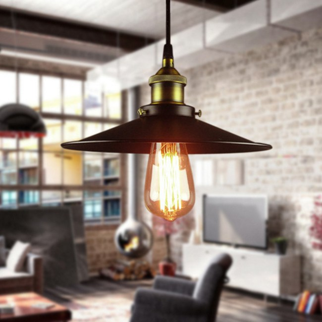 【光的魔法師】Loft RH 美式創意複古小黑裙吊燈