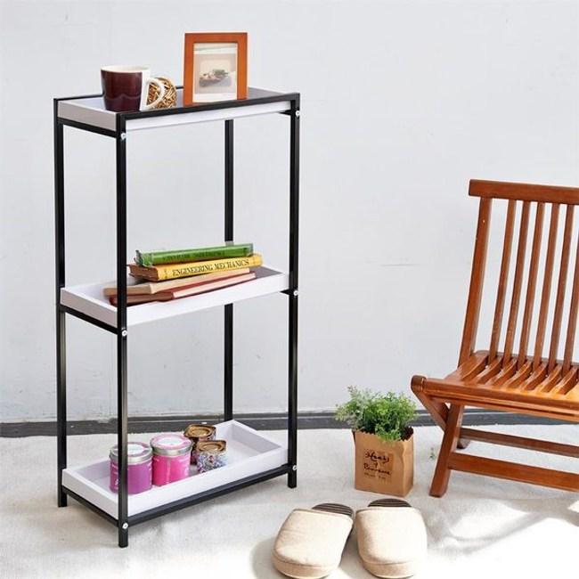 【H&R安室家】多用途三層置物架/收納架