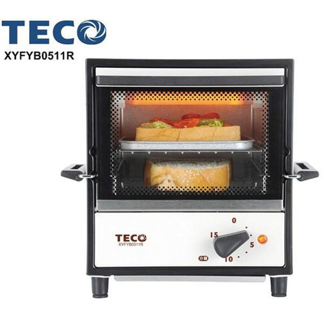 TECO東元5L時尚雙層電烤箱XYFYB0511R