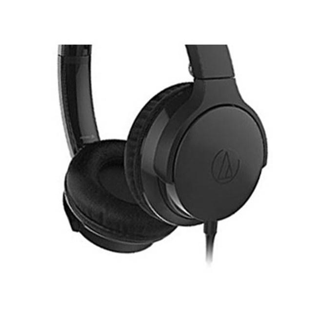 鐵三角 ATH-AR3 黑色 摺疊耳罩式耳機 可拆卸導線