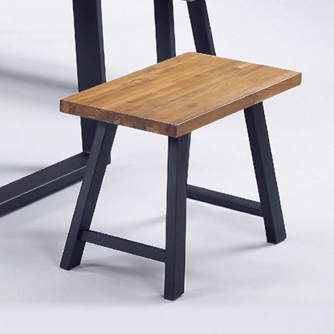 【YFS】里恩柚木實木小板凳-60x30x45cm