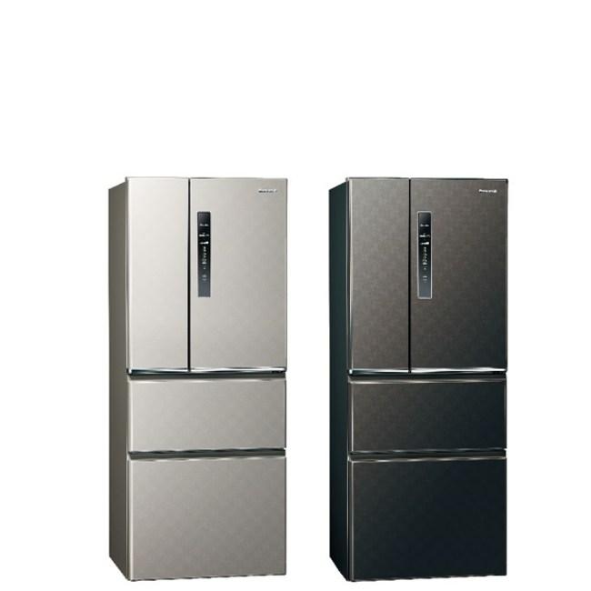 國際牌500公升四門變頻鋼板冰箱絲紋黑NR-D500HV-V絲紋黑