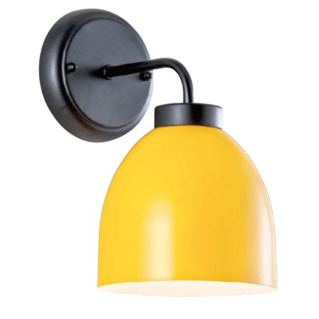 【YPHOME】北歐金屬壁燈 黃色 PW95067