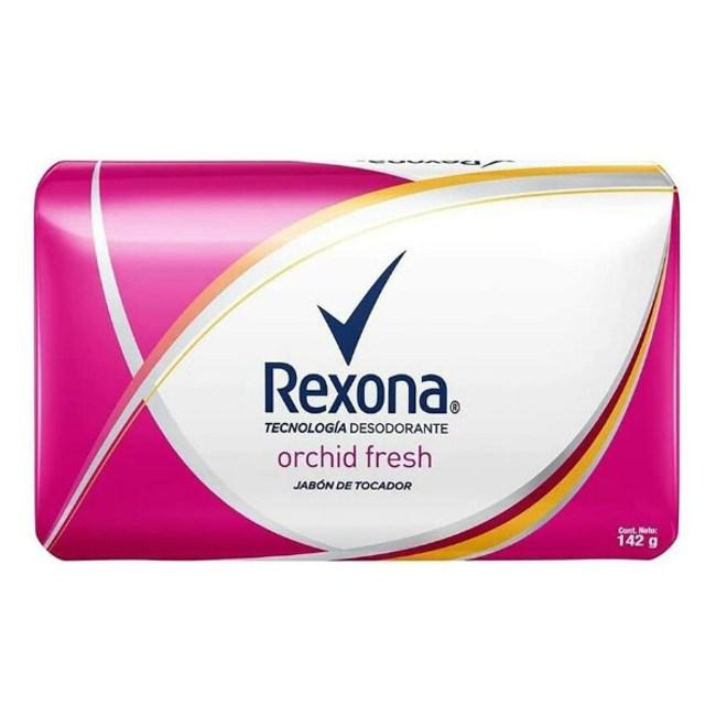 Rexona體香皂-新鮮蘭花香(142g)*20
