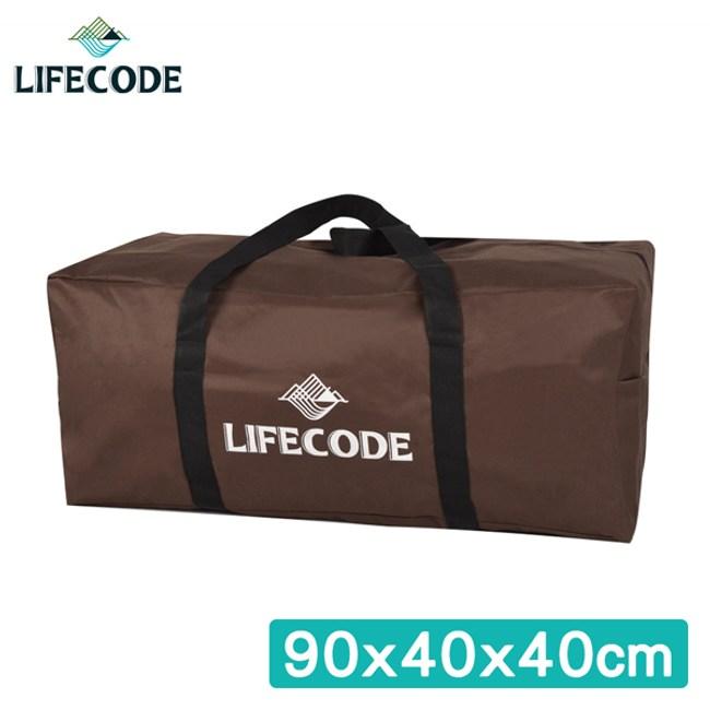 【LIFECODE】野營裝備袋90x40x40cm(XL號)-咖啡色