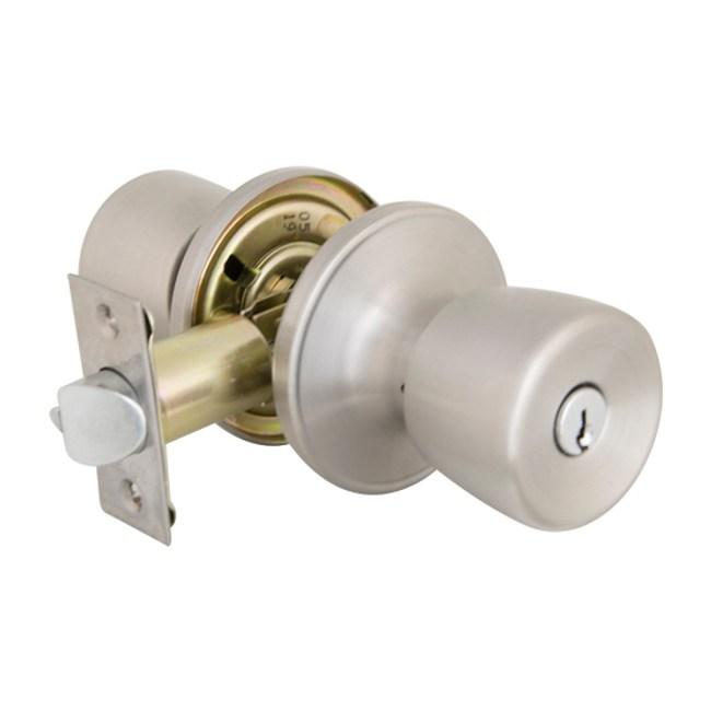 加安牌 管型房門鎖不鏽鋼磨砂色TS600