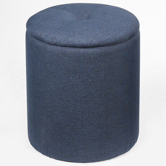 丹麥萊德收納椅 青金藍色款 38x38x42cm