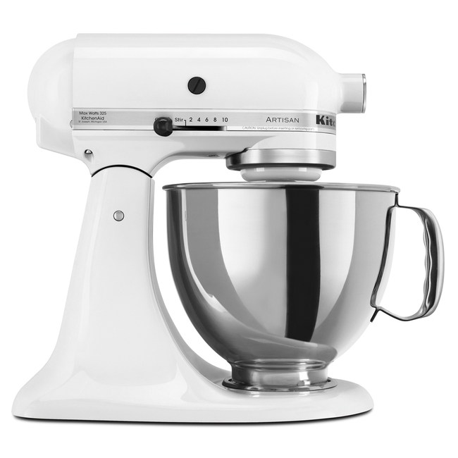KitchenAid桌上型攪拌機(牛奶白)
