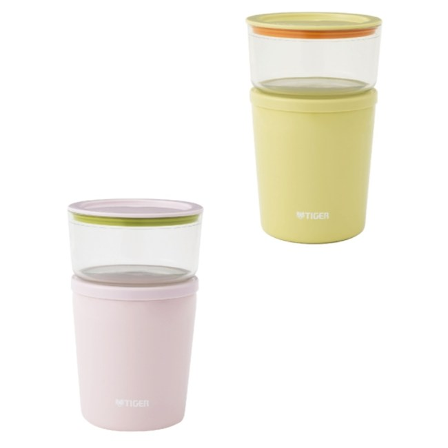 【TIGER 虎牌】日本製造保溫保冷杯 LCC-A030P浪漫粉