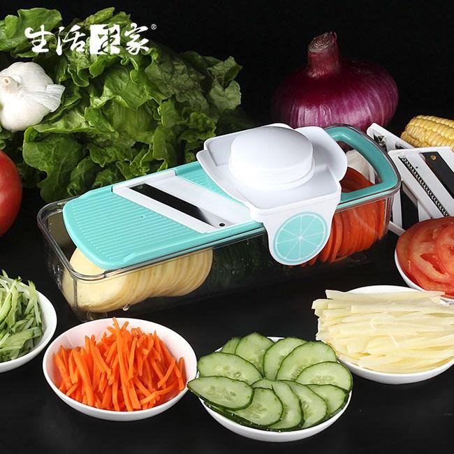 【生活采家】三機能刨絲切片切菜器#21057