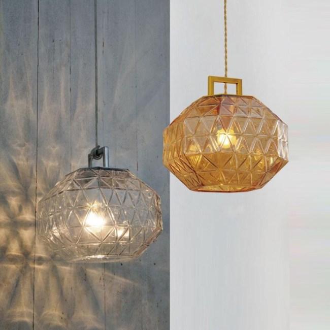 【obis】光影玻璃吊燈(二色)清光