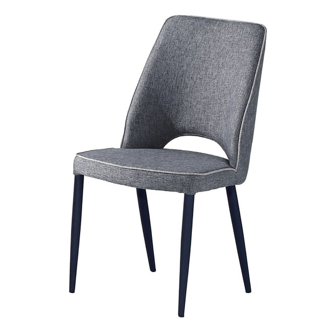 【YFS】福特布面餐椅-46x45x89cm(兩色可選)灰色
