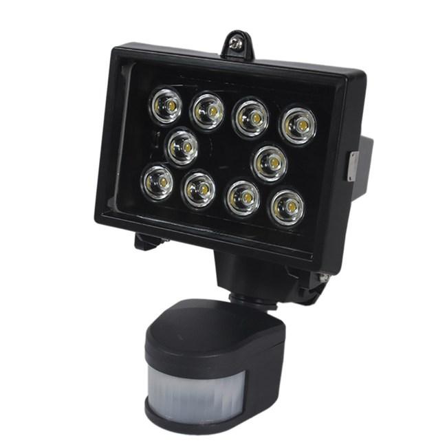 LED 10珠12W感應照明燈(暖白光)