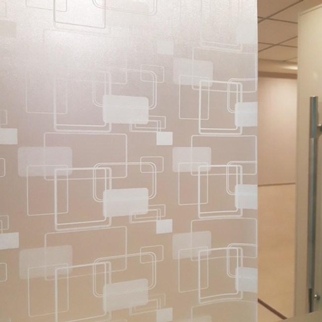 A+ 優質窗貼 45x200cm  素雅幾何
