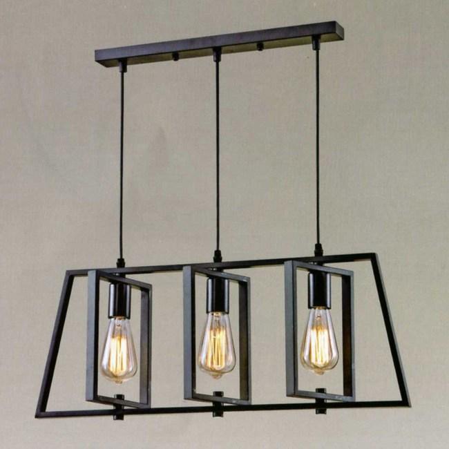 YPHOME 工業風幾何吊燈 A12323L
