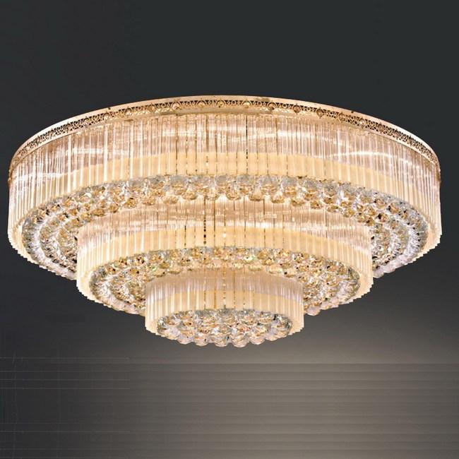 【大巨光】華麗風水晶燈_半吸頂燈-大(LW-09-0631)