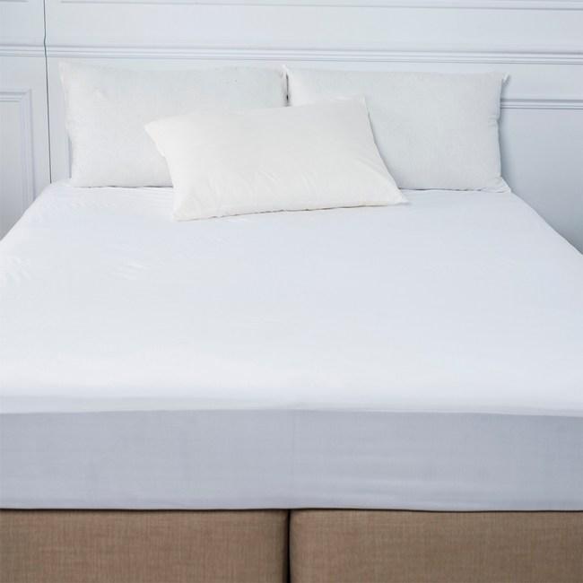 PAB 極細纖維床包式防水防蹣保潔墊 特大 寢之堡