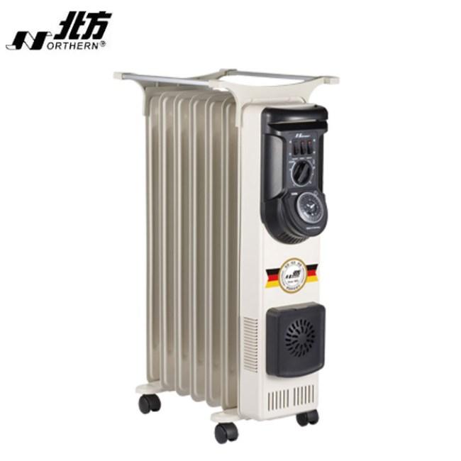 北方葉片式恆溫電暖爐(7葉片) NA-07ZL