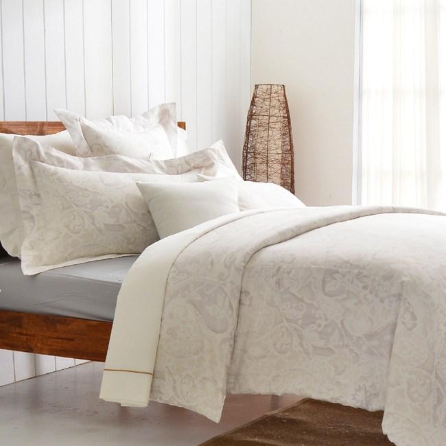 【Cozy inn】民謠-300織精梳棉四件式被套床包組(雙人)