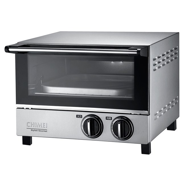 【CHIMEI奇美】12L遠紅外線不鏽鋼電烤箱 EV-12S0AK