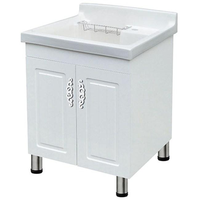 洗衣槽發泡板防水盆櫃 60cm