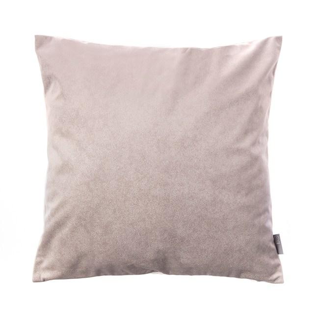 HOLA 素色星悅雙色抱枕60x60cm 銀灰色