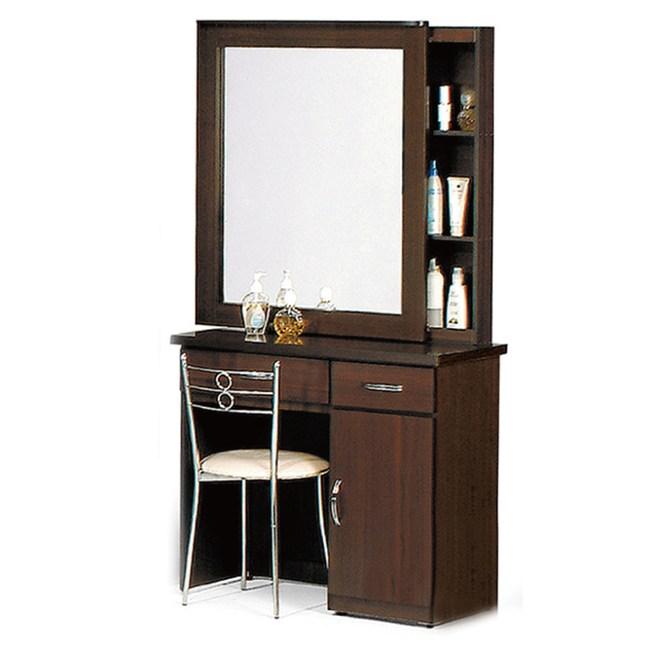 【YFS】得裏克化妝桌-81x39x165cm(送椅)