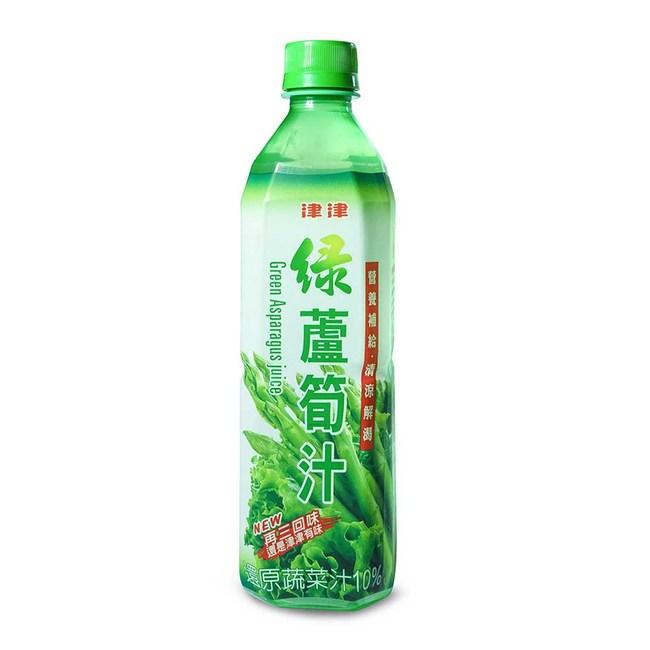 【津津】綠蘆筍汁 600gX24瓶/箱600gX24瓶/箱