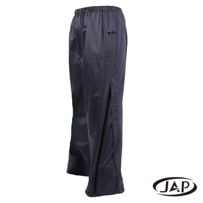 JAP 3D側開立體雨褲-黑色 YW-R116-M