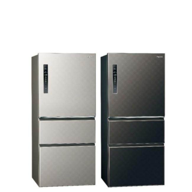 國際牌610公升三門變頻鋼板冰箱絲紋灰NR-C610HV-L絲紋灰