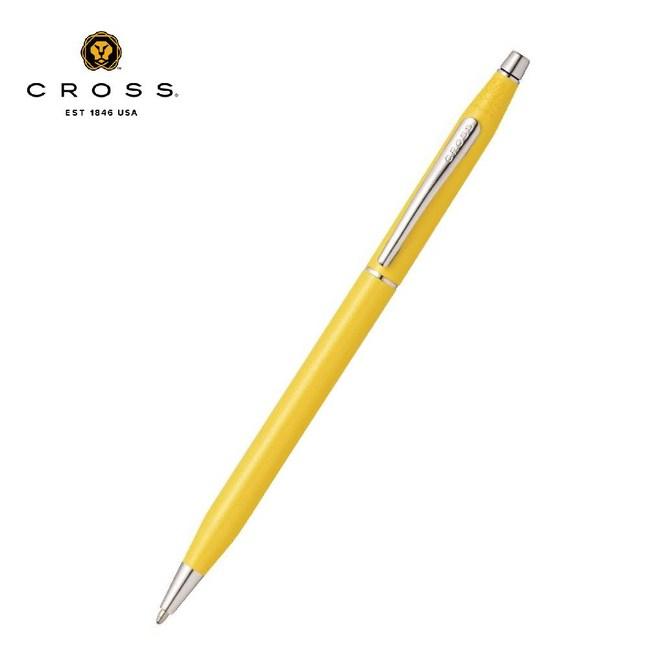 Cross貝殼珍珠黃原子筆 AT0082-126 公司貨