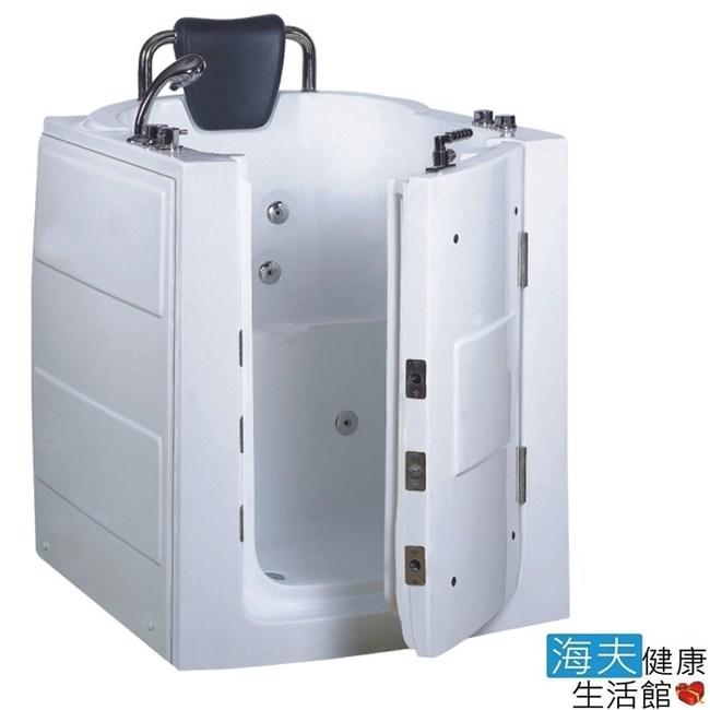 【海夫】開門式浴缸 110-T 恆溫水柱按摩款_95*80*100cm