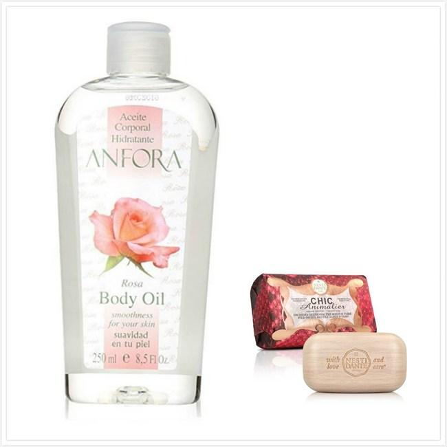 原裝進口ANFORA安芙拉玫瑰果精油(8.5oz)*1+義大利手工紅豔奢華皂*3