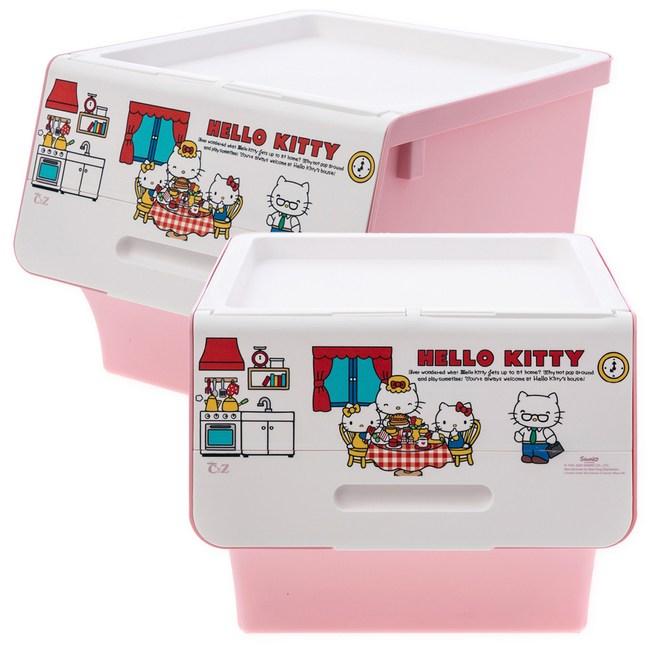 (組)KITTY 直取式整理箱40L-2入