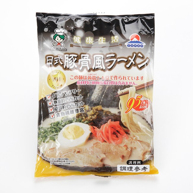 日本中喜NAKAKI蒟蒻纖食拉麵 豚骨