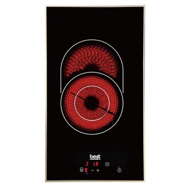 【義大利貝斯特best】不鏽鋼框設計單口崁入式電陶爐 E2820(期貨L292xW514x