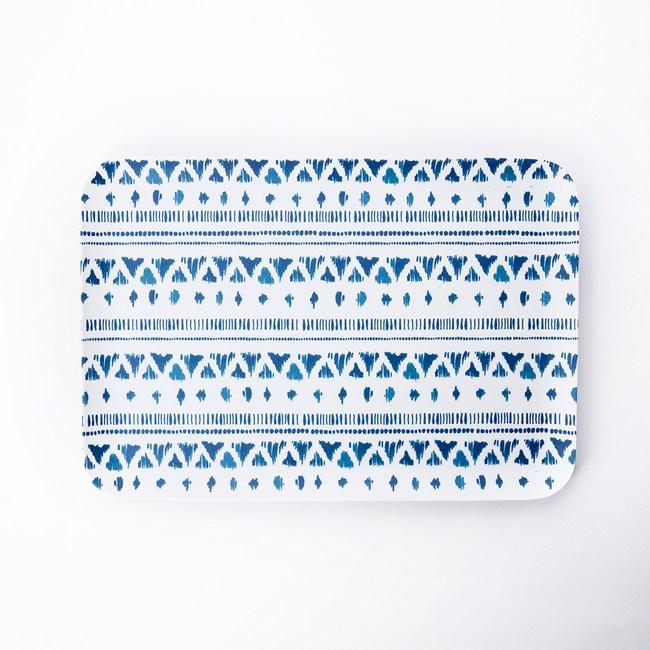 HOLA 曼蒂美耐皿托盤32cm 織紋
