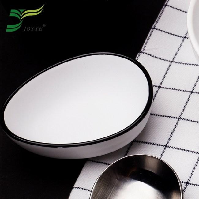【JOYYE陶瓷餐具】小鳥依偎蛋型調味碟(一套2件)