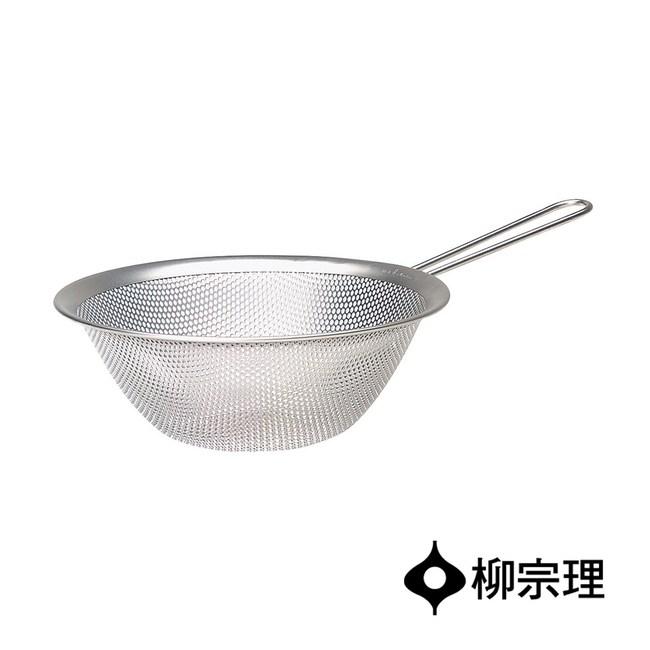 日本柳宗理 不鏽鋼單柄漏杓19cm