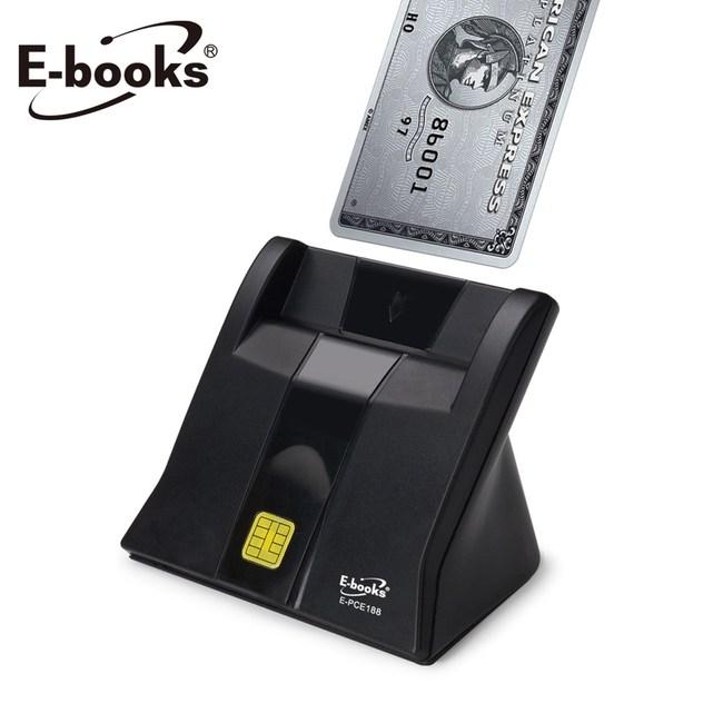 E-books T38 直立式智慧晶片讀卡機黑