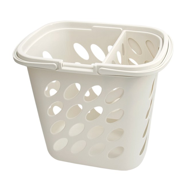 【AXIS 艾克思】子母分類髒衣籃/洗衣籃/收納籃+密網洗衣袋_6入組牛奶白+洗衣袋