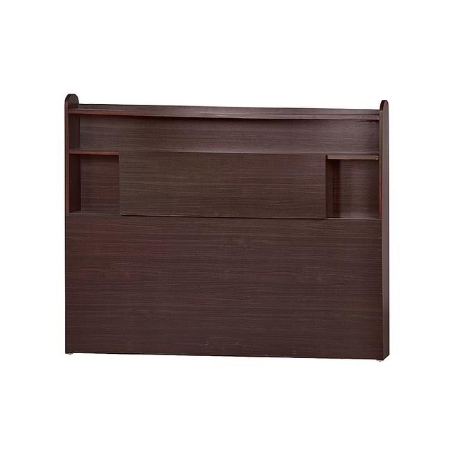 【YFS】麥基5尺床頭片-152.5x10x110cm(四色可選)胡桃色