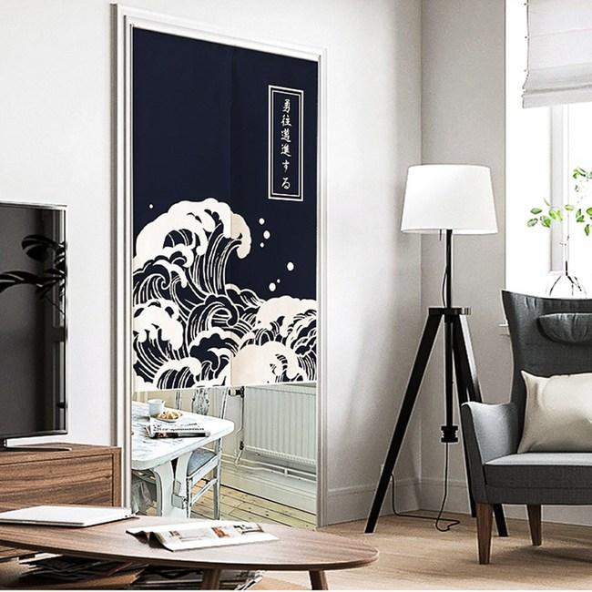 HONEY COMB 浮世繪海門簾 窗簾 風水簾 玄關 GT-3906