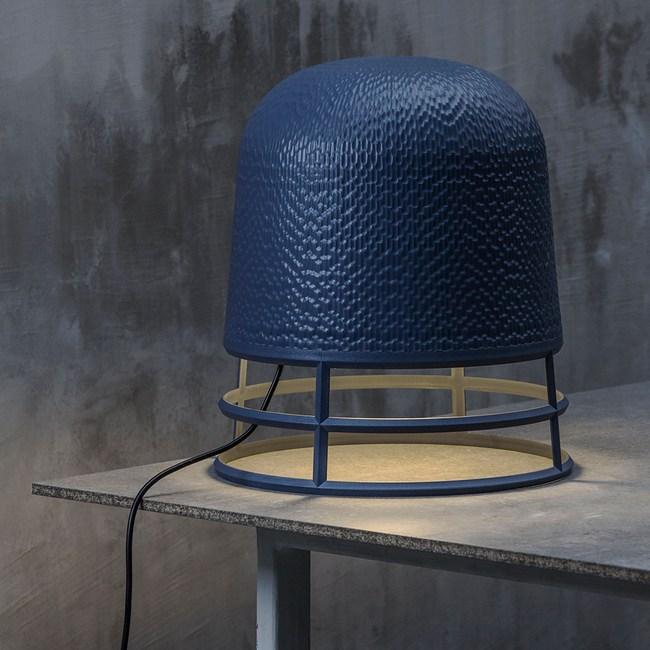 QUALY 卡維爾-環燈罩L(藍)