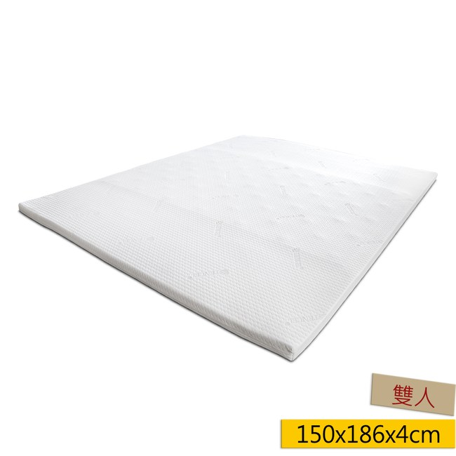 Super Cool 天絲涼感凝膠記憶床墊4cm雙人