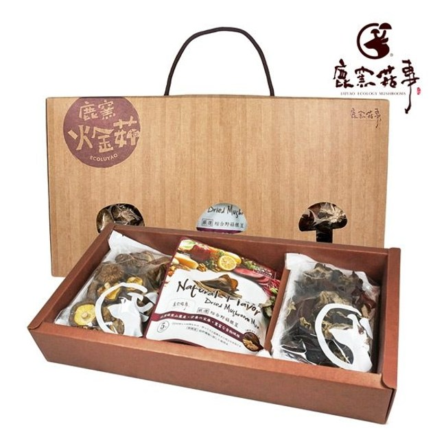 鹿窯菇事.圓滿禮盒(120g/盒)