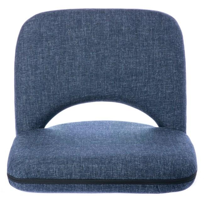 和風14段和室椅 牛仔藍