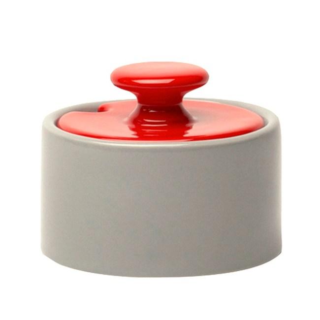 Jansen+co|調色糖罐 (灰+紅)