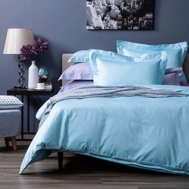 HOLA 托斯卡歐式枕套 2入 森藍