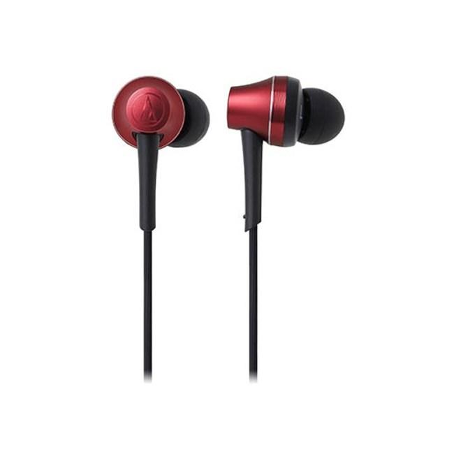 鐵三角 ATH-CKR75BT 紅 藍芽頸掛式耳道式耳機 可夾式